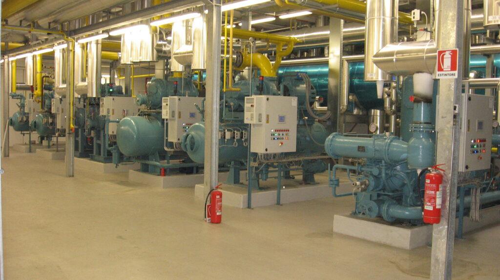 Utilizzo di inverter per impianti di refrigerazione industriale